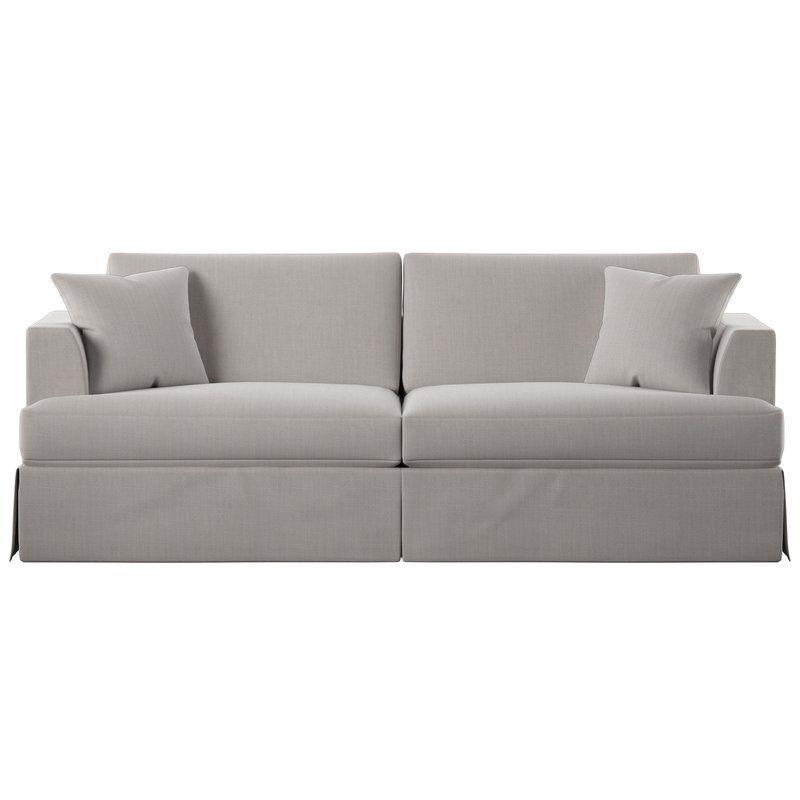 Carly 93 Recessed Arm Sofa Sofa Living Room Pieces Best Sofa