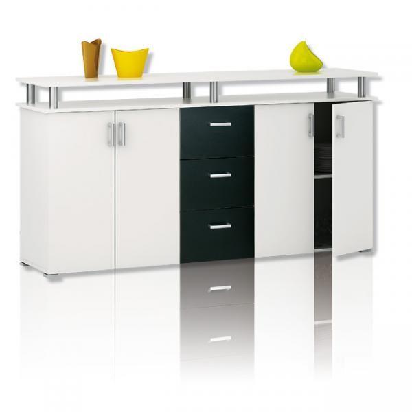 Nett Sideboard Weiss Schwarz Deutsche In 2019 Locker Storage
