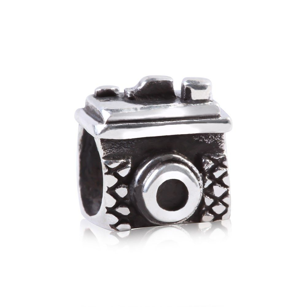 Berloque Prata Câmera Fotográfica: Compre na Rosana Joias & Relógios - Rosana Joias
