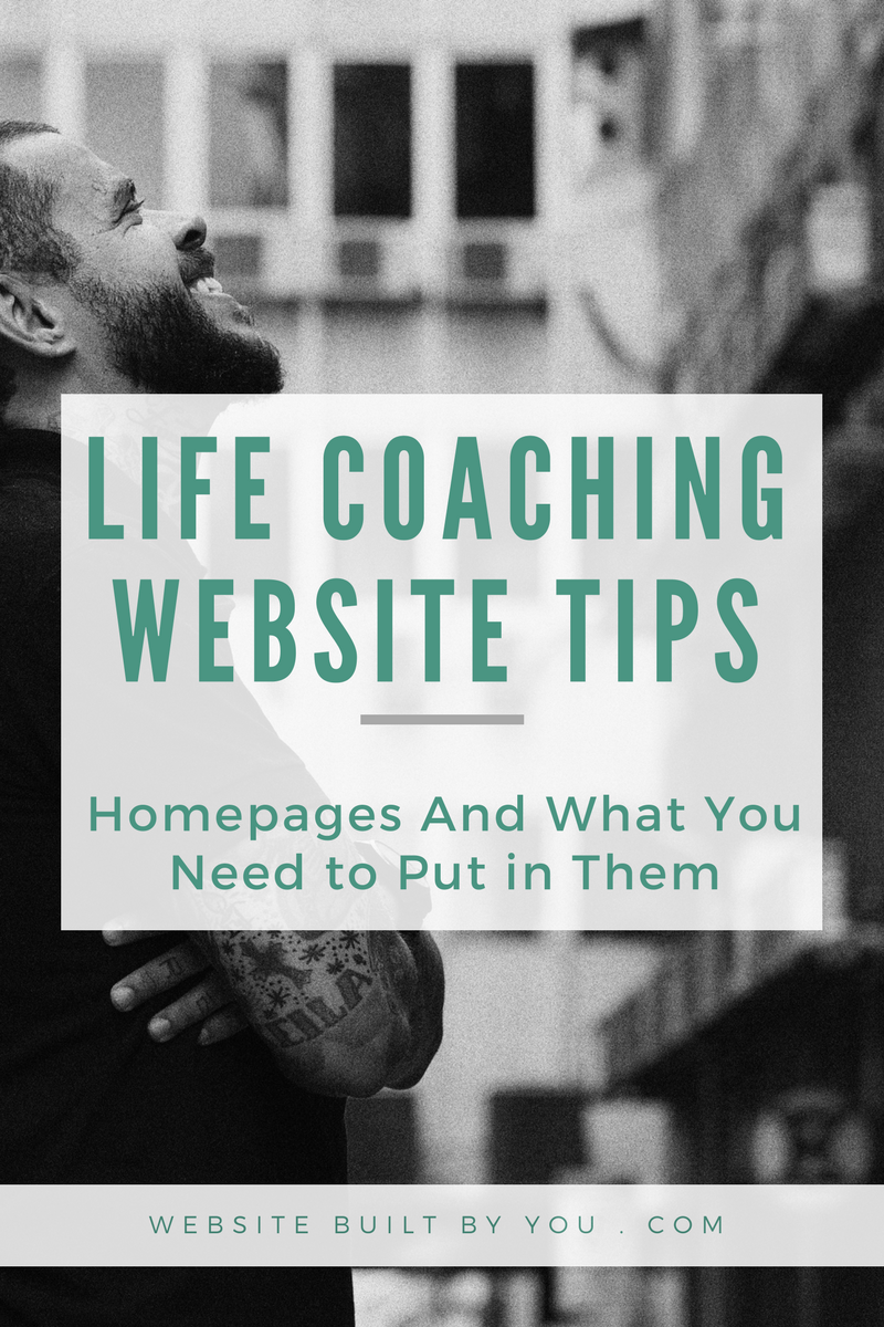 7 Things every life coaching homepage must have | Life ...