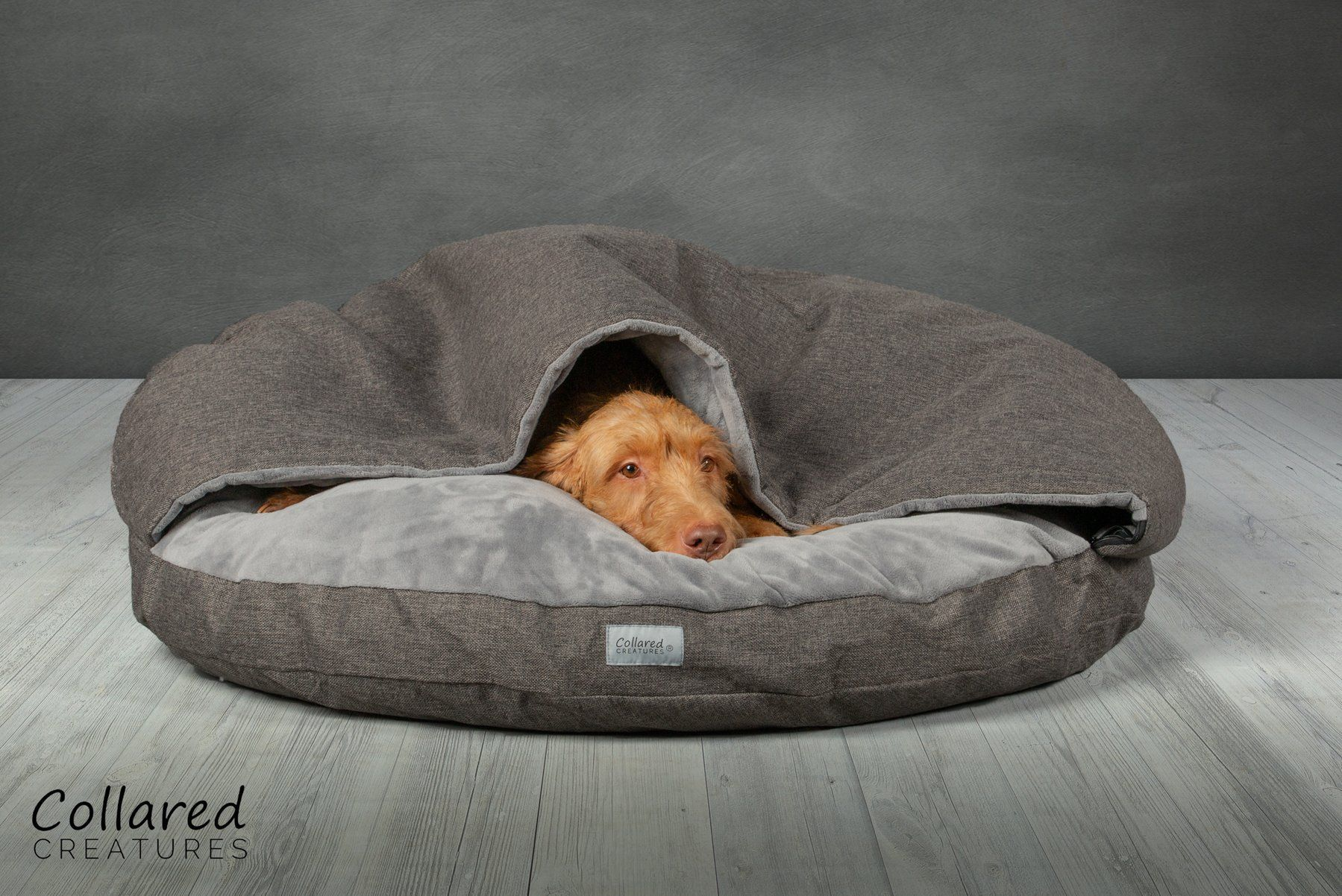 Grey Classic Dog Cave Bed in 2020 Classic dog, Whippet