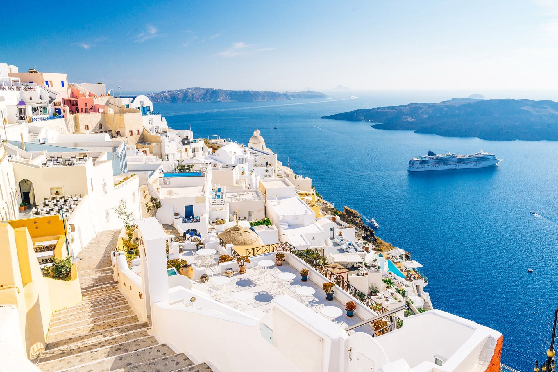 Top 10 Interesting Facts About Santorini Awesomegreece Top Greek Islands And Beaches Greece Travel Santorini Santorini Island