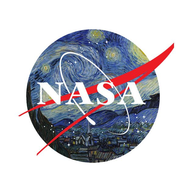 **NEW** REALLY COOL POSTER! **NEW** EMBELLISHED NASA LOGO SPACE PROGRAM