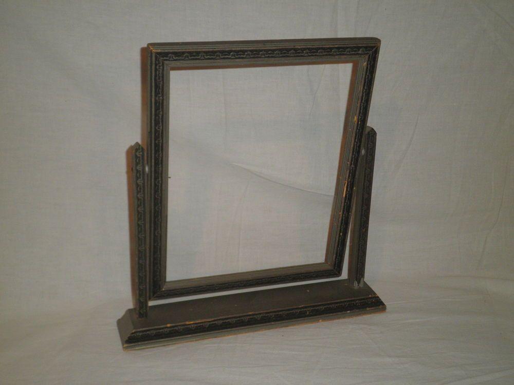 Vintage Art Deco Wooden Swing Stand Up Platform Frame It Is 12 1 2 Tall Artdeco Wooden Picture Frames Antique Picture Frames Frame