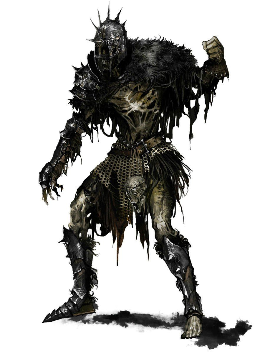 Dark Souls II Character Art & Concept Artwork Alta