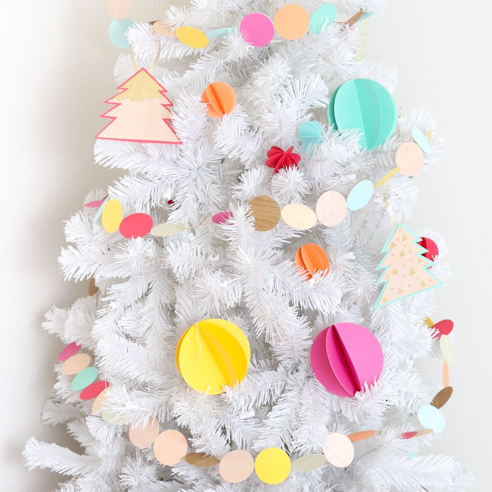Colorful 3D Sewn Paper Ornaments | Getting Crafty & DIY | Pinterest ...