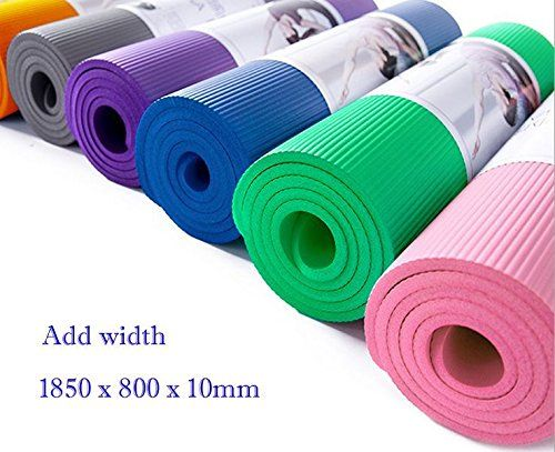Dalakin Add Width 10mm Non Slip Yoga Pilates Mat New 73 X 31 Gym Cushion Thickpink Visit The Image Link More Detail Mat Exercises Mat Pilates Yoga Pilates