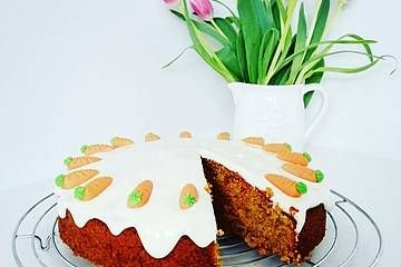 Karottenkuchen, Rüblikuchen oder Möhrenkuchen #celebrationcakes