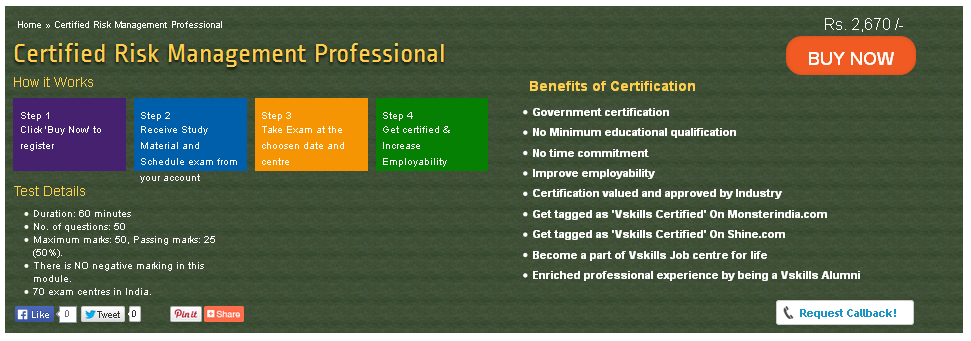 The certification tests the candidates on various areas in