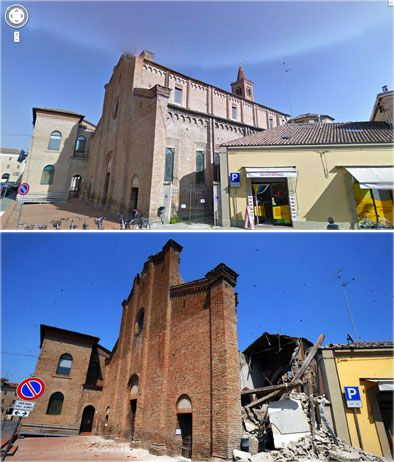 La Chiesa Di San Francesco A Mirandola E Una Delle Prime Chiese