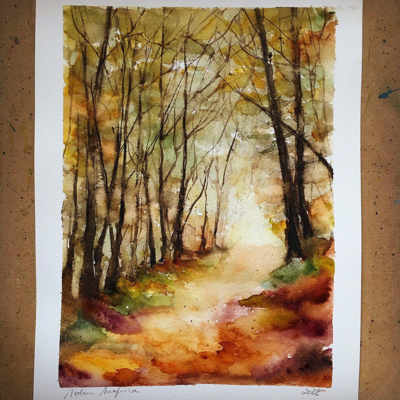 Almond Blossoms Fine Art Print Peinture A L Aquarelle De Fleurs