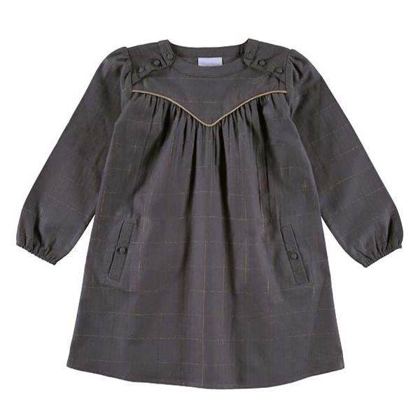 shopminikin - Louis Louise Adria Dress, Grey (http://www.shopminikin.com/louis-louise-adria-dress-grey/)