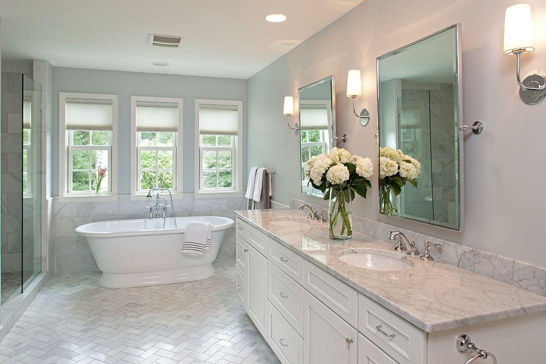 Elegant Transitional Master Bathroom Edina Mn Mingle Main Bathroom Ideas Transitional Bathroom Design Bathrooms Remodel