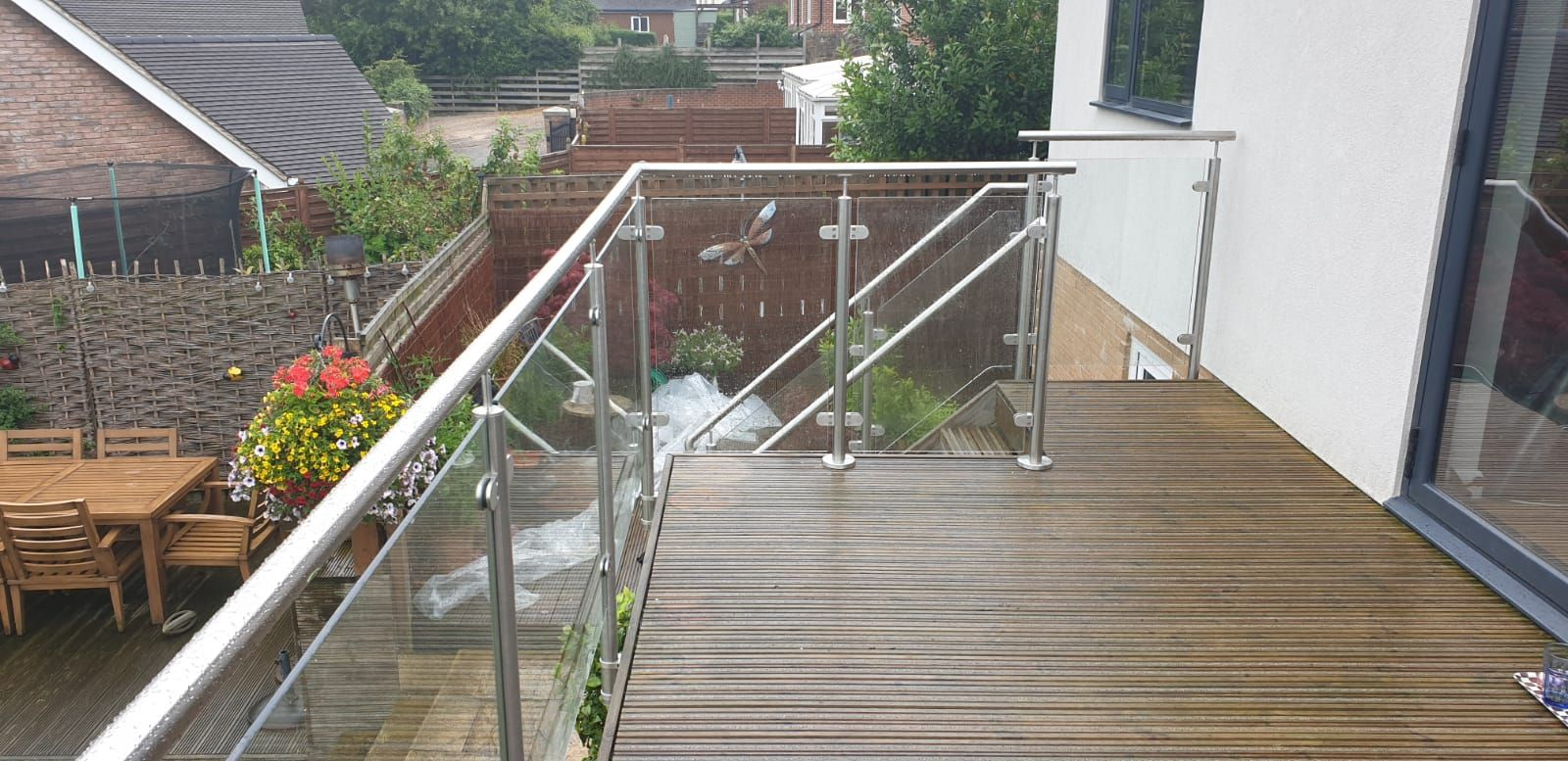Pin by Diomet Fabrications on Glass Balustrade Designs ...