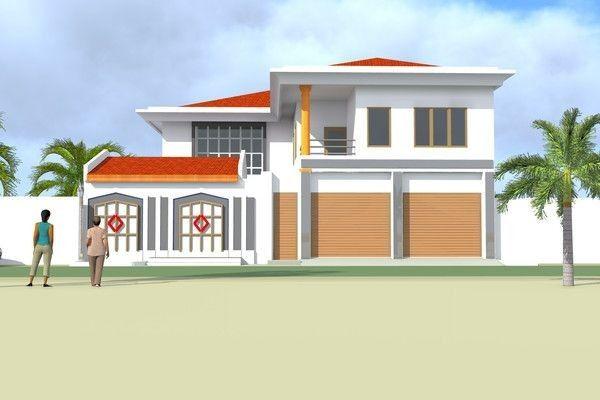 Projet De Construction D Une Villa A Ouaga 2000 Bf Architecture