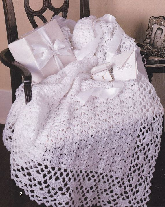 Beautiful Baby Afghan Crochet Patterns - 5 Designs - Absolutely ...