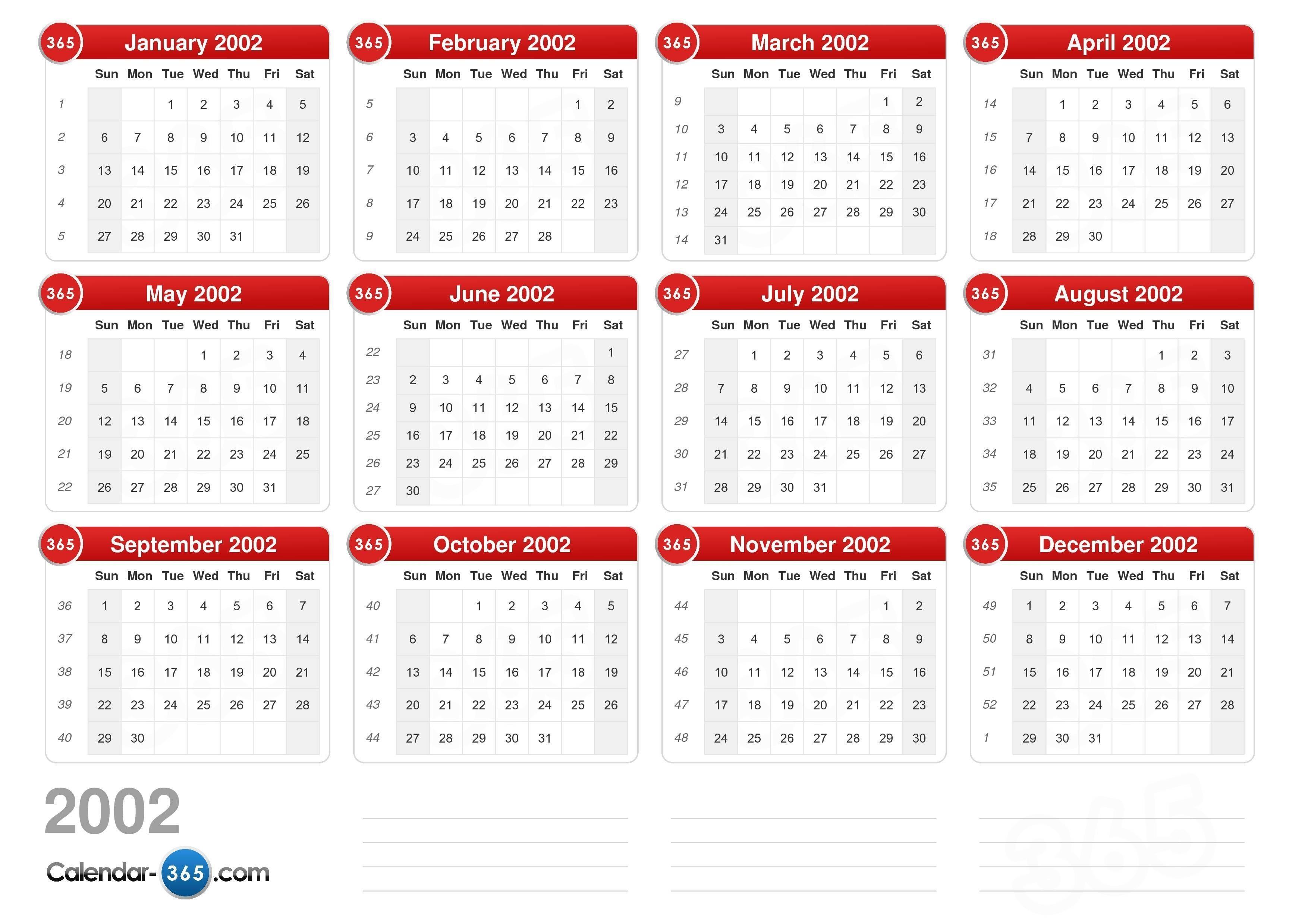 2002 Calendar Get Check More At Https Photobrunobernard Com