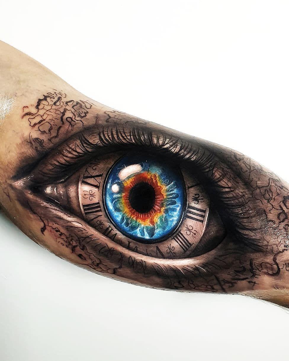 [50 Фото] Татуировка Глаз для Мужчин и Женщин | Татуировки ...