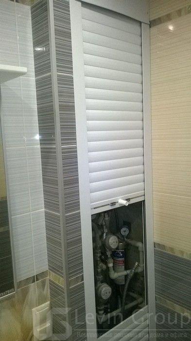 Рольставни в туалет (санузел), цена от 2187 руб ...