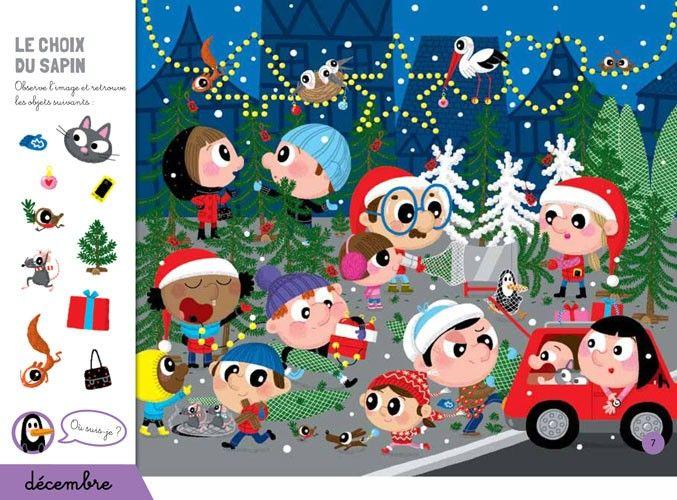 Cherche Et Trouve De Noel Livre De 4 A 6 Ans Auzou