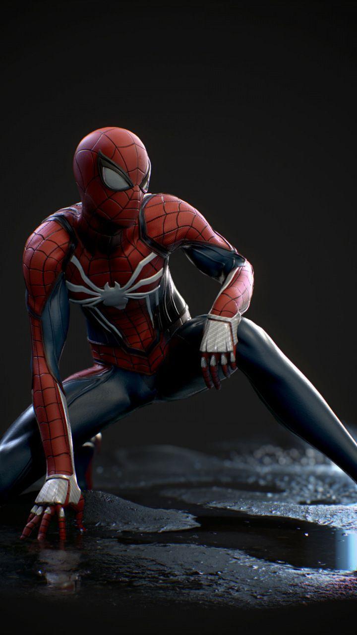 Spiderman, fan made, artwork, 2018, 720x1280 wallpaper