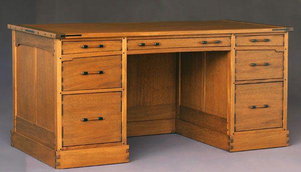 Pedestal Desk Plans Woodworking Basement Ideas Pinterest
