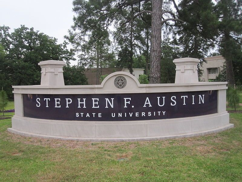 Located in Nacogdoches, Texas, Stephen F. Austin is a