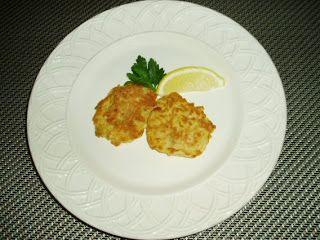 Cauliflower Fritters with Lemon