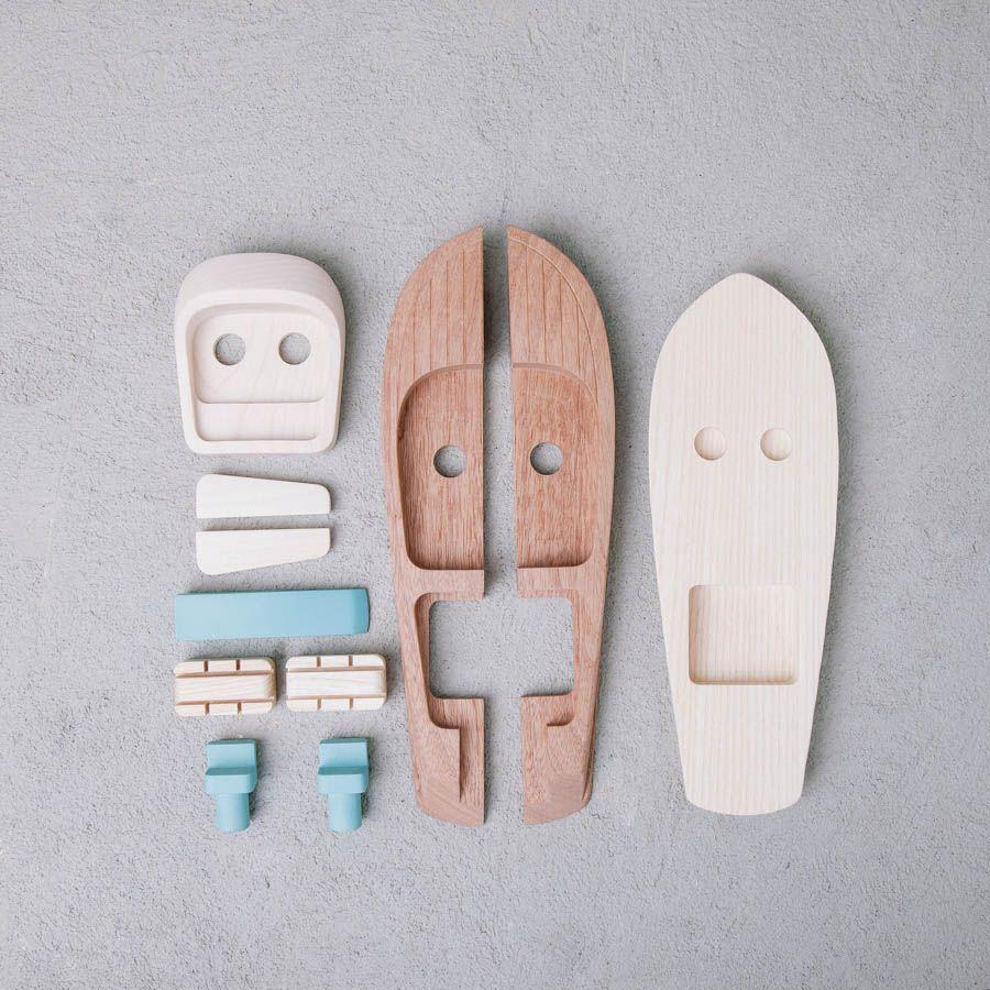 In Legno Wood Design aquarama motoscafo modellino in legno #aquarama #motoscafo