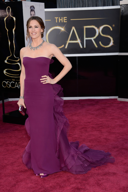 Best Oscar Dresses 2013 Jennifer Garner In Gucci Best Oscar Dresses Oscar Dresses Red Carpet Dresses