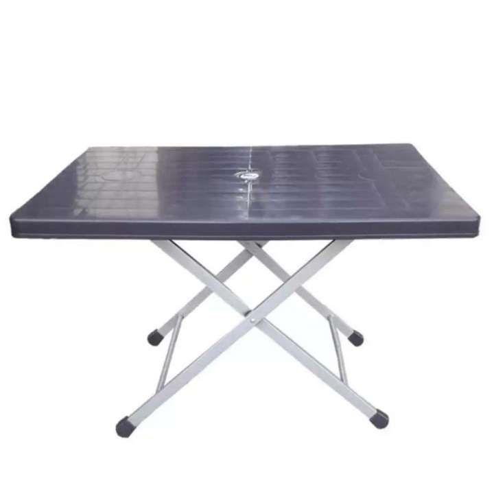 23patio garden heavyduty height adjustable folding table