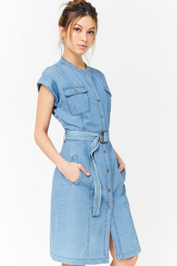 0db2b9f69f820 Denim Shirt Dress For Sale - Joe Maloy