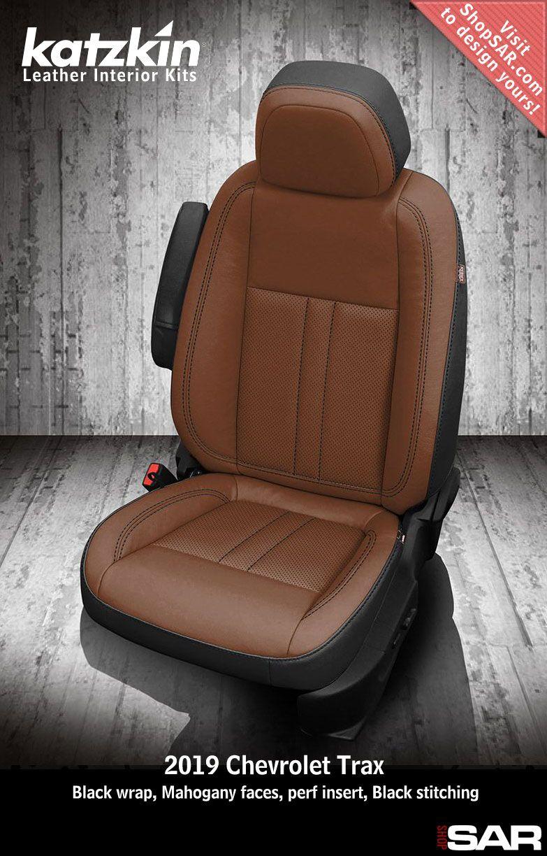 Katzkin Custom Leather Auto Interiors Leather Seat Covers Chevrolet Trax Custom Car Interior Leather