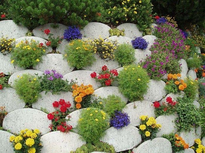 1001 Idees Et Conseils Pour Amenager Une Rocaille Fleurie