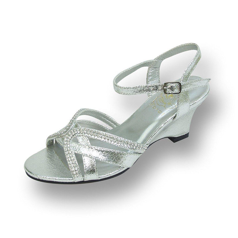 19++ Wide width bridal shoes silver ideas