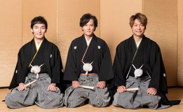 袴の稲垣吾郎