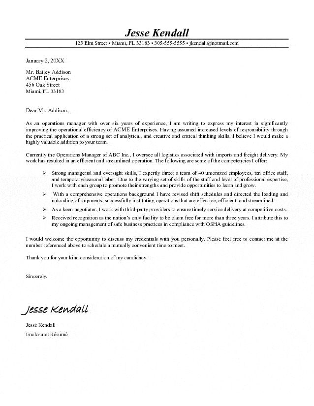facilities manager cover letter best template collection   News to ...
