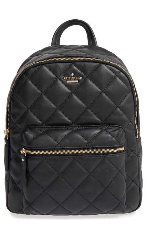 kate spade new york 'emerson place - ginnie' quilted leather ... : quilted leather rucksack - Adamdwight.com