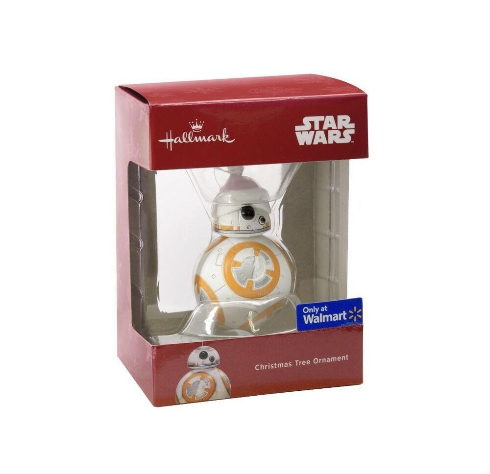 Hallmark 2018 Star Wars BB8 Santa Hat Ornament Walmart