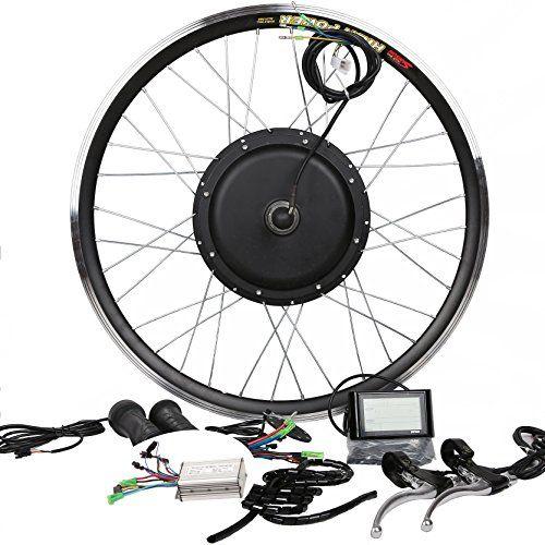 Theebikemotor 3000w Hub Motor Electric Bike Conversion Kit Lcd
