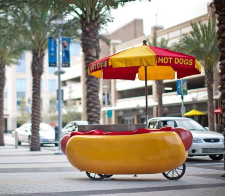 Hot Dog Cart By John Kaminski Via Behance