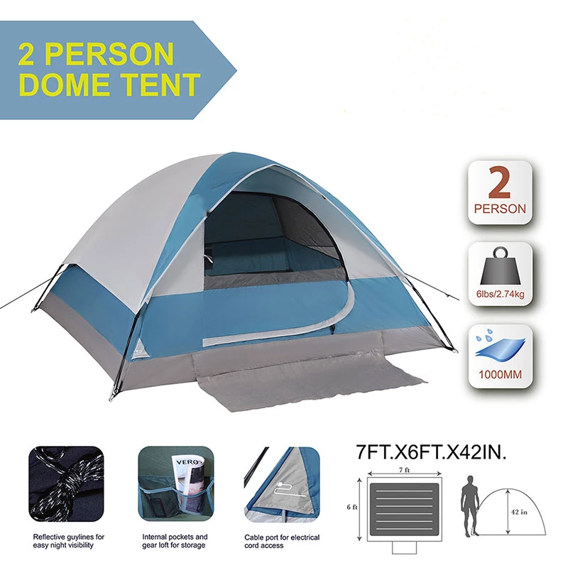 2 Person Backpacking Camping Tent Tent Tent Camping Tent Material