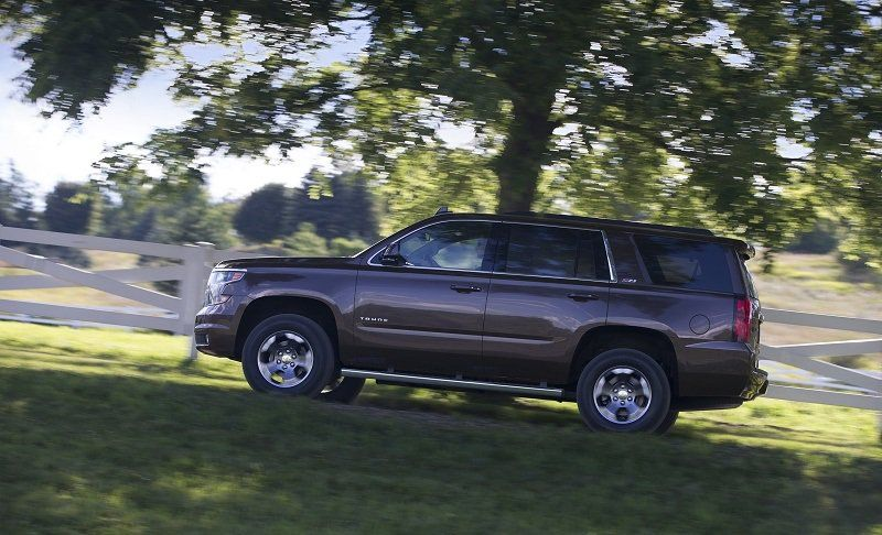 8 Suvs That Are More Dangerous Than You Think Chevrolet Tahoe