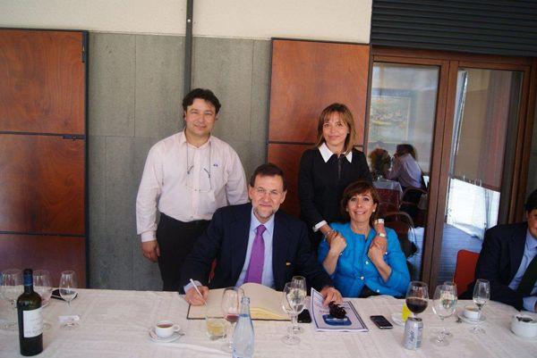 Mariano Rajoy y Alicia Sánchez Camacho