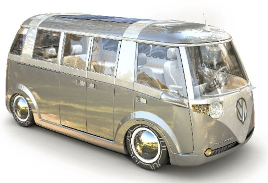 Vw Verr New Bus Concept