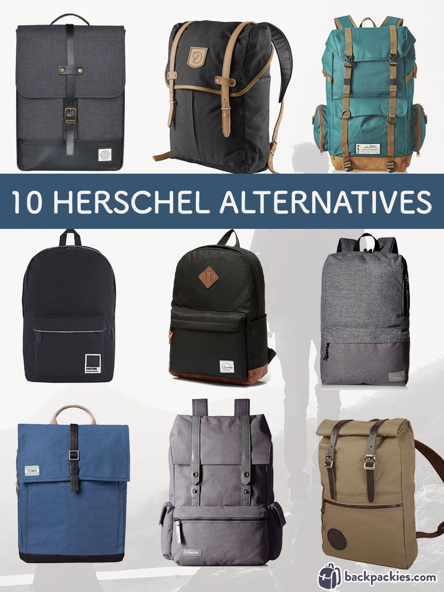 6fa6d7afed3 Looking for backpacks similar to Herschel  We ve got your covered! Here we  list 10 awesome brands that offer backpacks and bags like Herschel Supply  Co.