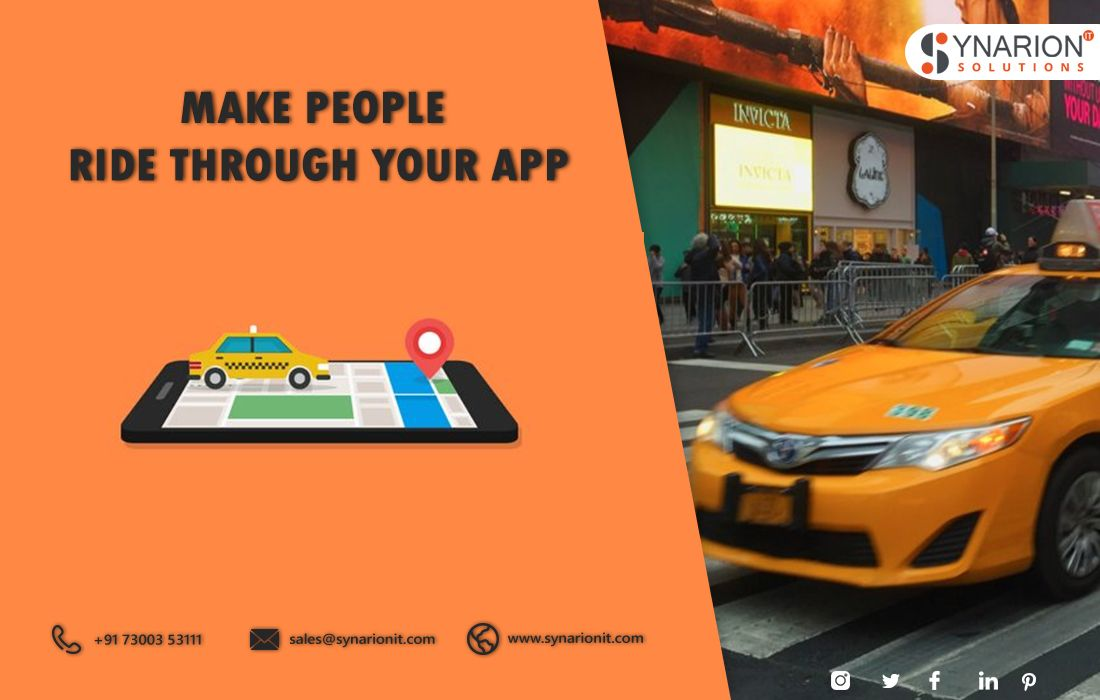 The popularity of taxi booking app development is on the