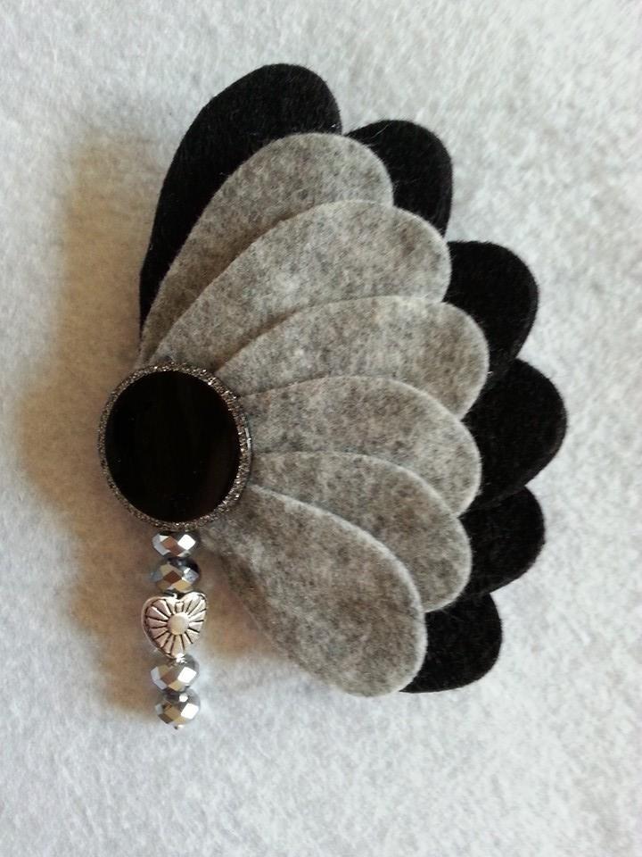 pin von earlene way auf crafts pinterest schmuck filzen und n hen. Black Bedroom Furniture Sets. Home Design Ideas