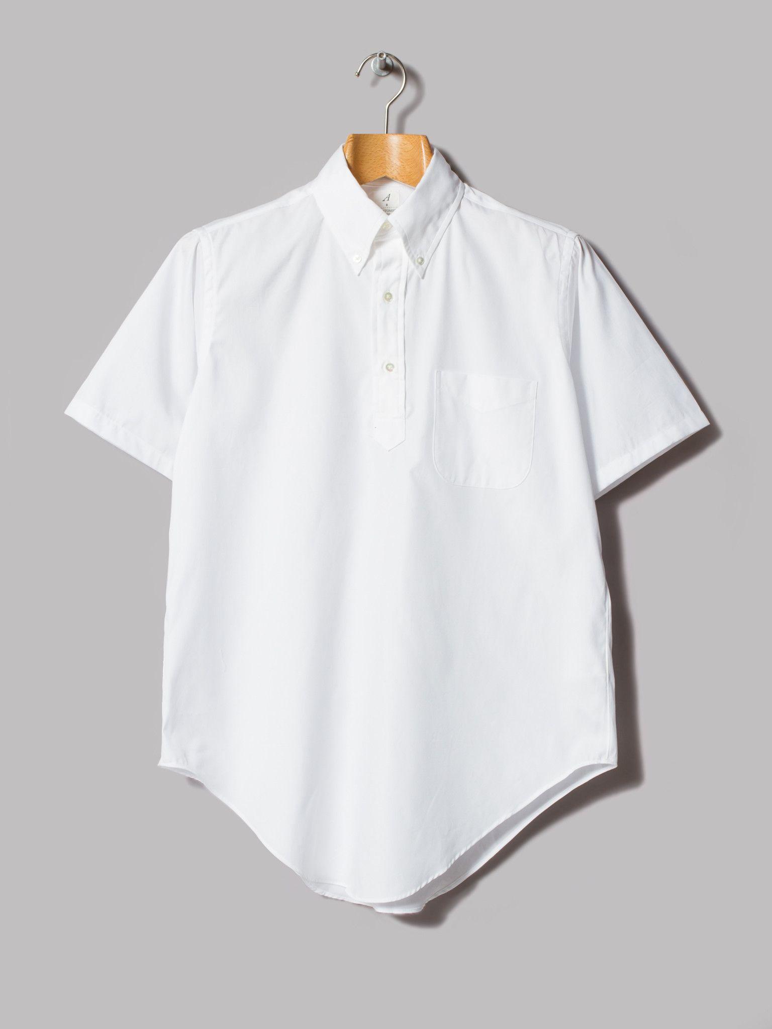 Frenchmen Clothing Short Sleeve Oxford