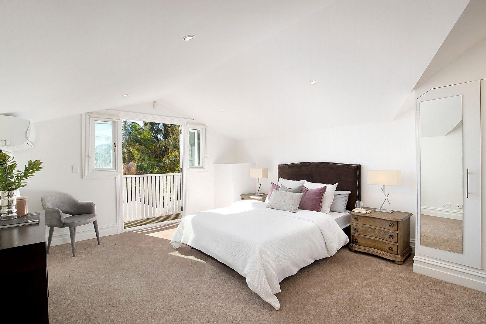 Master bedroom huge  Huge main bedroom w builtins u balcony design modern residence